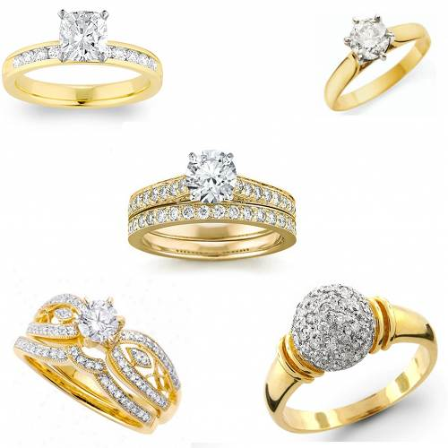 Ladies Big Fashion Rings