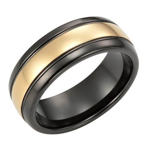 Black Male Wedding Band Styles