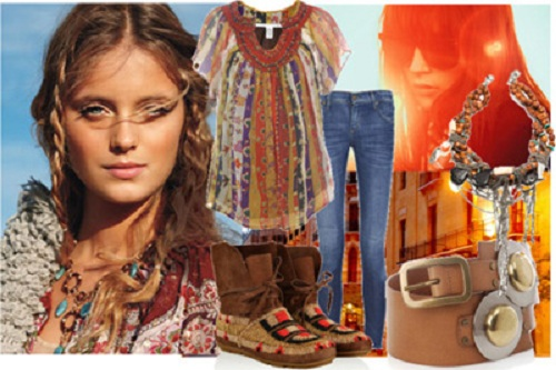 Bohemian Clothing Style for Women