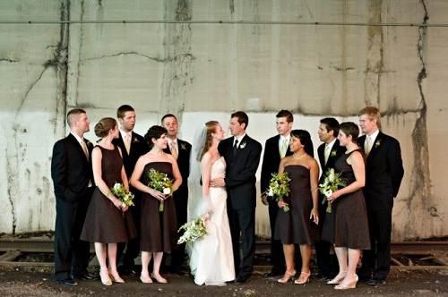 Brown Bridesmaid Dresses UK