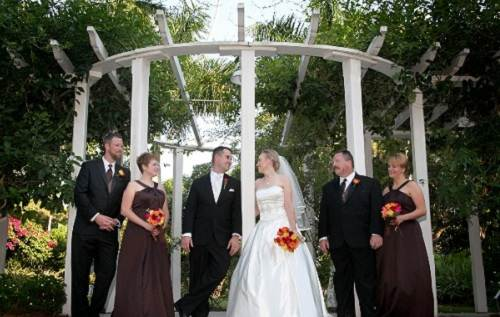 Brown Bridesmaid Dresses with Sash