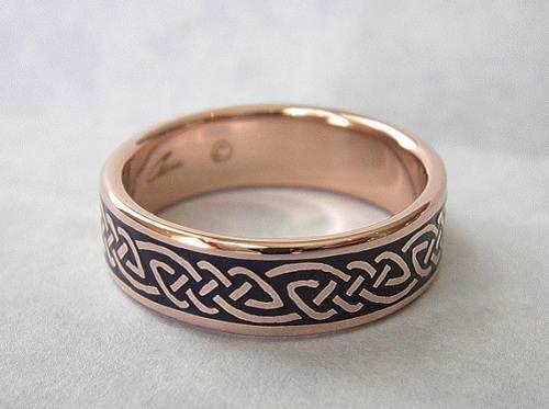 Celtic Rose Gold Ring 2013