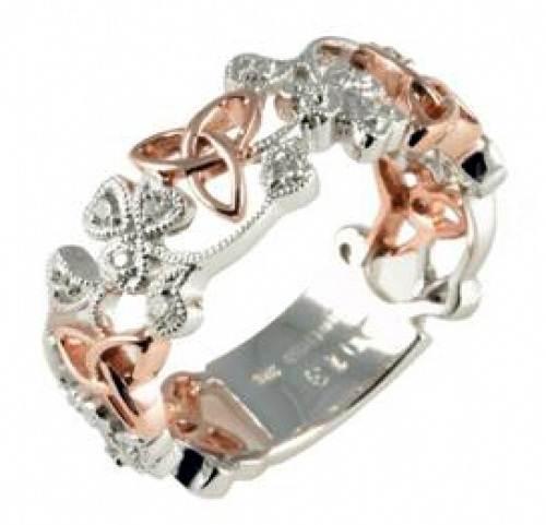 Celtic Rose Gold Ring Designs