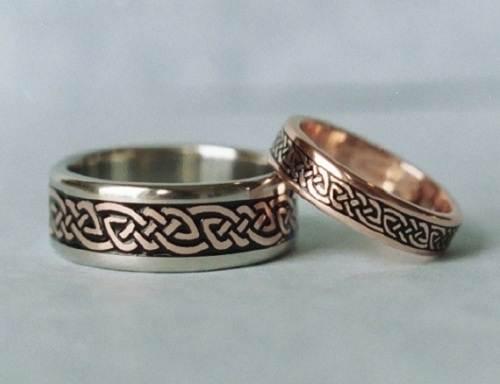 Celtic Rose Gold Ring Ideas