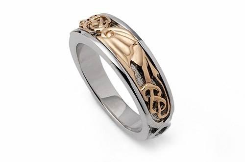 Celtic Rose Gold Ring Innovation