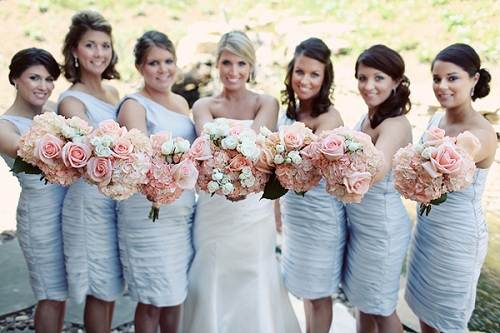 Country Chic Wedding Bridesmaid Dresses Ideas
