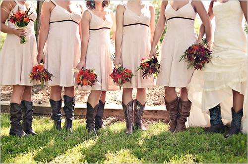 wedding ideas country theme country themed wedding bridesmaid dresses samples 27838