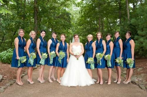 Country Themed Wedding Bridesmaid Dresses Images