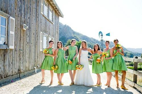 Country Wedding Bridesmaid Dress Ideas 2013