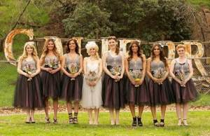 Country Wedding Bridesmaid Dress Ideas Styles