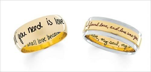 Engraved Promise Rings for Men Styles