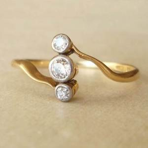 Etsy Art Deco Engagement Ring Ideas