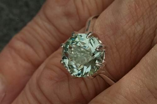Green Amethyst Wedding Ring Images