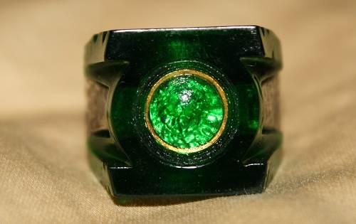 Green Lantern Mens Wedding Ring Images
