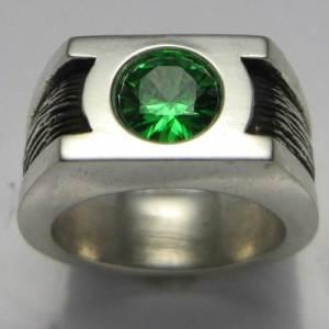 Green Lantern Mens Wedding Ring Photos