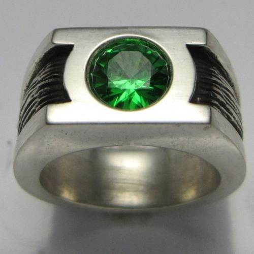 Green Lantern Mens Wedding Ring Photos - Fashion Female