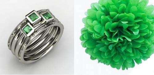 Green Lantern Wedding Ring Styles
