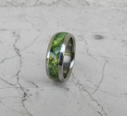 Green Lantern Wedding Ring for Sale