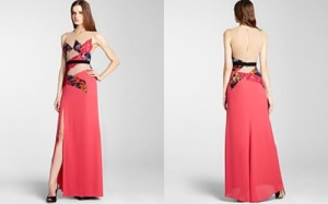 High Neck Long Prom Dresses Pictures