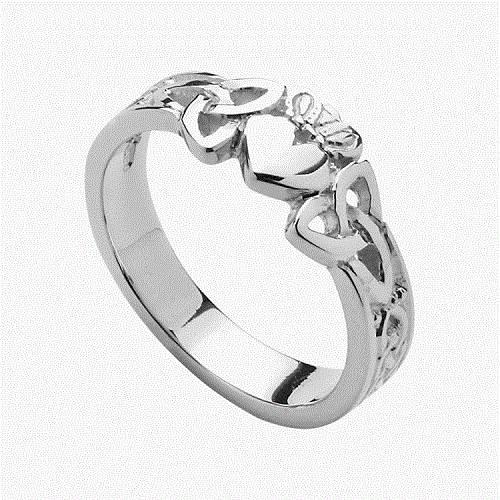 Irish Claddagh Ring Heart Designs