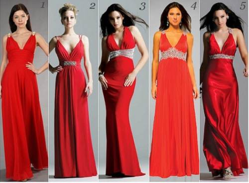 Long Grecian Prom Dresses Red