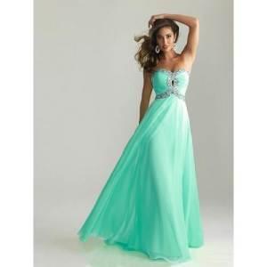 Long Prom Dresses Green 2013
