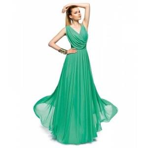Long Prom Dresses Green Images