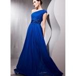 Long Prom Dresses One Shoulder Designs