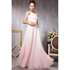 Long Prom Dresses One Shoulder Styles
