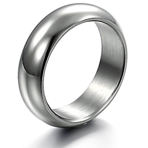 Male Wedding Bands Black