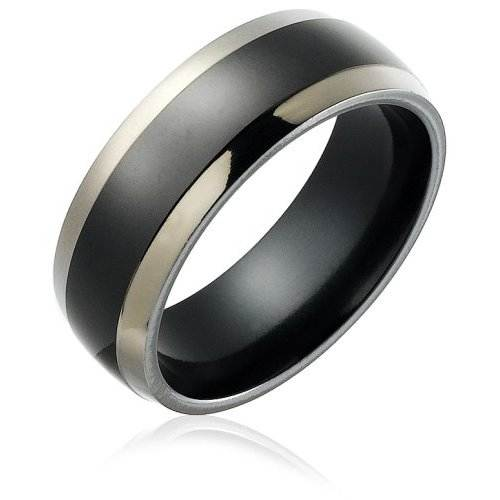 Male Wedding Bands Titanium