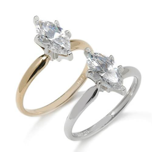 Marquise Solitaire Rings Ideas
