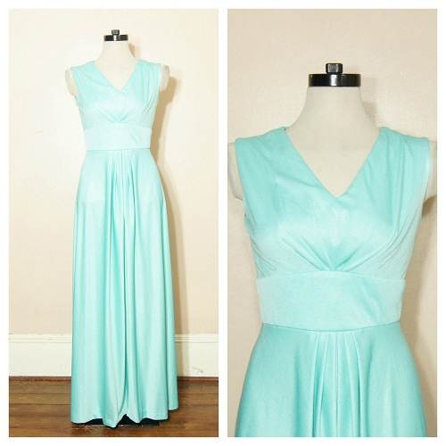 Mint green Long Prom Dresses Designs