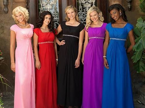 Modest Bridesmaid Dresses with SleevesModest Bridesmaid Dresses with Sleeves