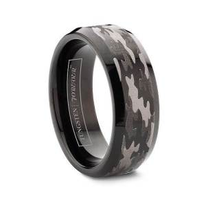 Pink Camouflage Engagement Rings Samples