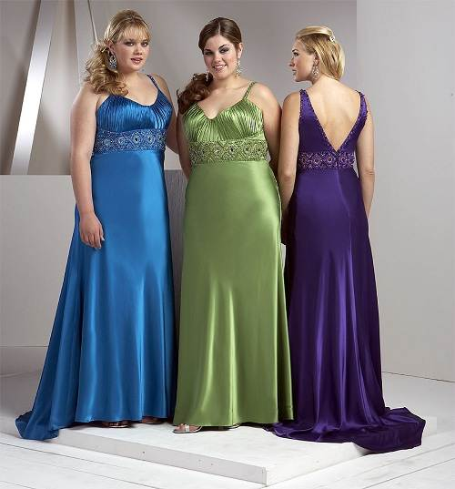 Plus Size Bridesmaid Dresses Images