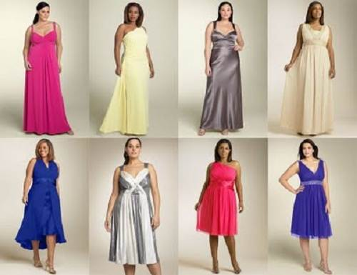 Plus Size Bridesmaid Dresses under 100