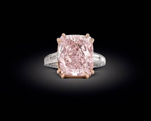 Real Pink Diamonds Jewelry