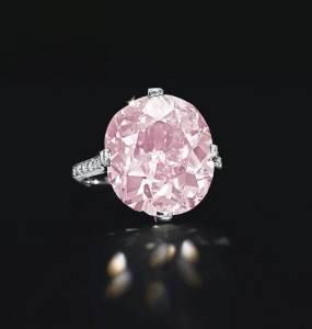 Real Pink Diamonds Ring