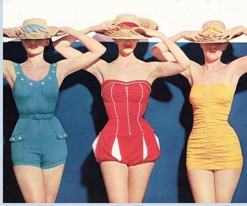 Retro Vintage Swimsuit Collection