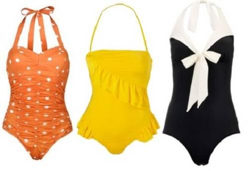 Retro Vintage Swimsuit for Women