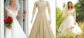 Retro Wedding Dresses in Stylish Vintage Mode