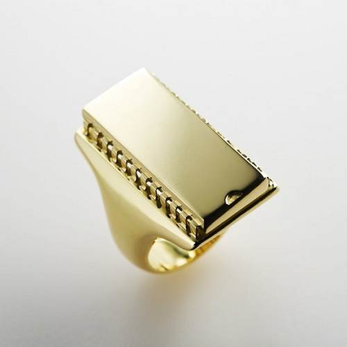 Ring Design for Male Gold Fashion Female