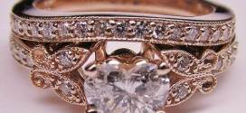 Rose Gold Engagement Rings with Bright Detail
