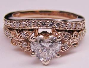 Rose Gold Engagement Rings Canada