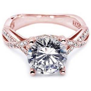 Rose Gold Engagement Rings Tiffany