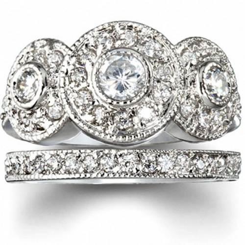 Round Wedding Rings Ideas