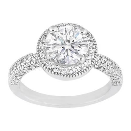 Round Wedding Rings Styles