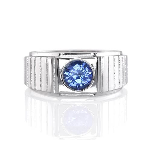 Sapphire Rings for Men Photos