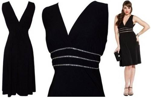Sexy Black Plus Size Dress Ideas